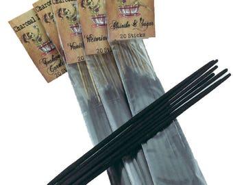 Nag Champa Charcoal Incense 20 Sticks