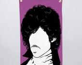 Prince, Prince Tea Towel, Prince Dishcloth, Cotton Tea Towel, Rock Icon Towel, Kitchen Towel, Prince Cloth, Purple Towel, Purple Tea Towel