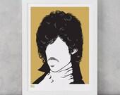 Prince Screen Print, Prince Wall Art, Prince Wall Decor, Prince Print, Prince Merchandise, Music Icon Screen Print, Music Wall Art, Wall Art