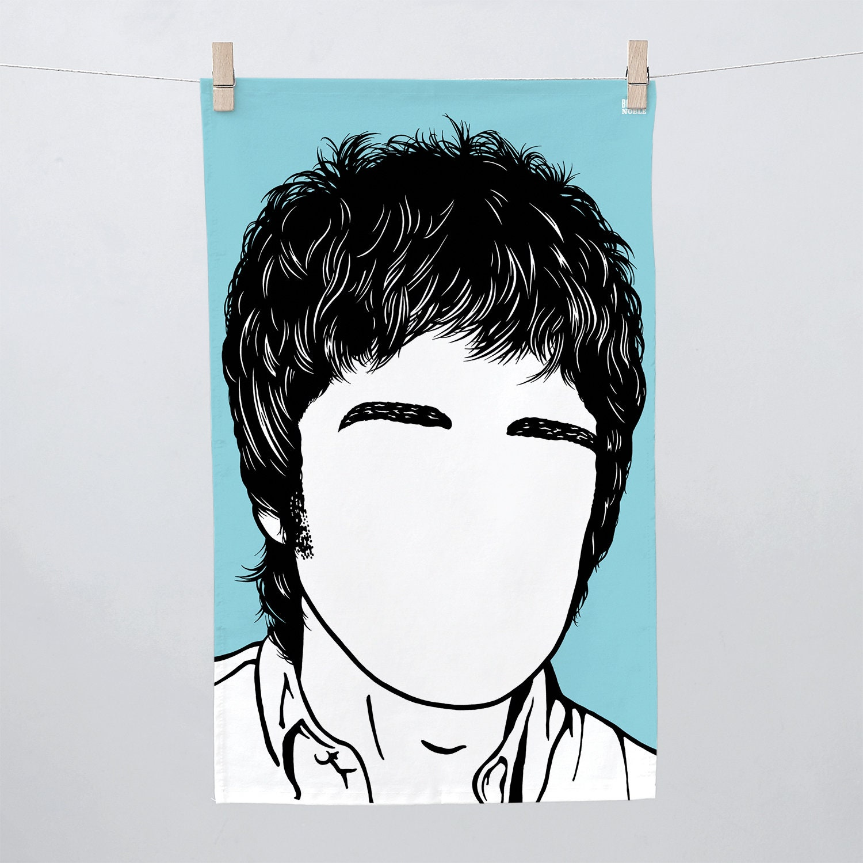 Gallagher Kitchen: Noel Gallagher Tea Towel Noel Gallagher Towel Noel