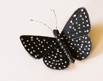 Starry Night butterfly brooch, Amazonian butterfly
