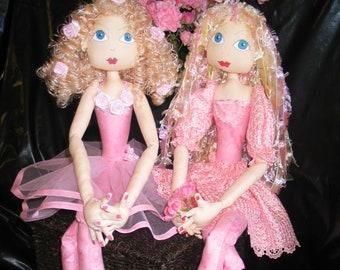 ePatterns - FIVE ballerina/fairy/dancer patterns - Libby, Ella, Lavinia, Phoebe, Dance Class
