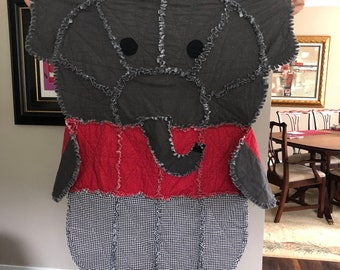 Alabama Elephant Rag Blanket Quilt Big Al