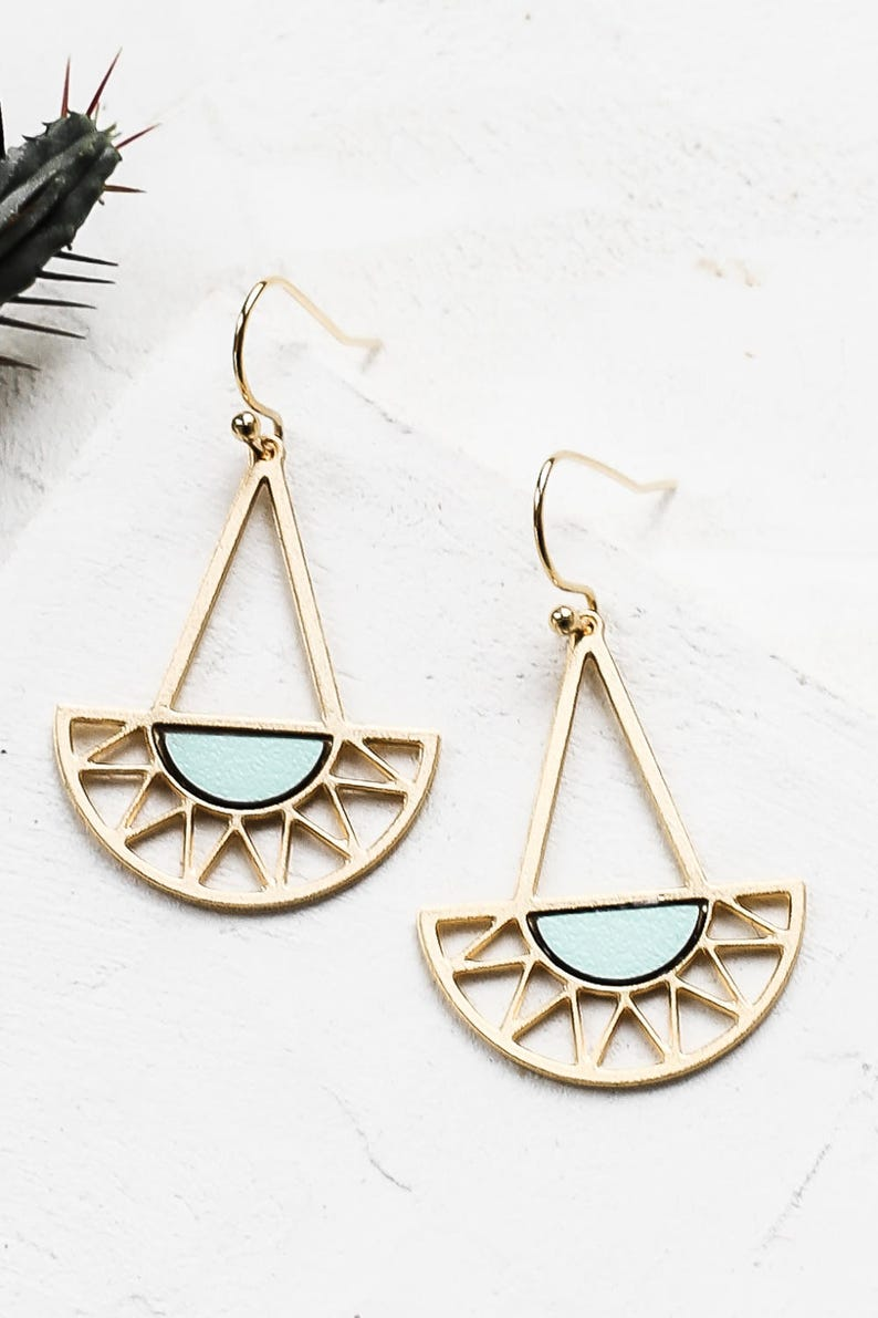 870671b60 Summer Earrings Sunset Earrings Sunrise Earrings Sun | Etsy