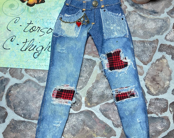 Art Jeans for Angel Philia Dolls C Torso C Thigh