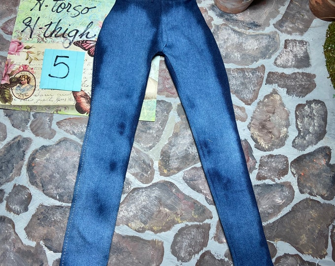 Distressed Jegging for Angel Philia Dolls H Torso H Thigh