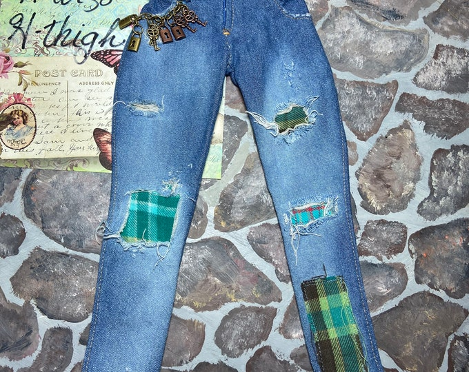 Art Jeans for Angel Philia Dolls H Torso H Thigh