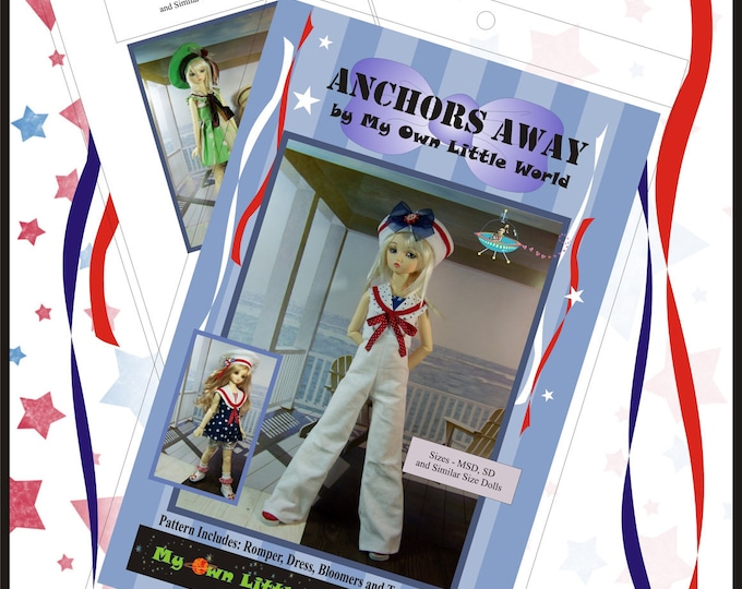 PDF Version - Anchors Away Pattern for SD and MSD Ball Jointed dolls
