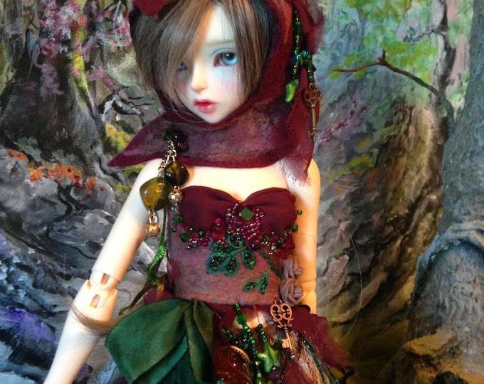 Elderberry Fairy for Fairyland Minifee Aline and Fairyline BJD Dolls