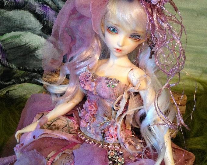 Gentle Rose Fairy for Fairyland Minifee Fairyline BJD Dolls