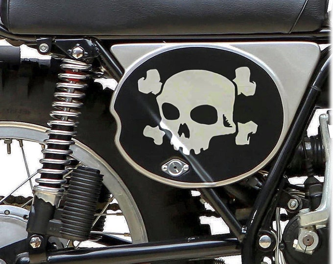 DECAL - Super Skull - Choose Color & Size - Ships free in USA