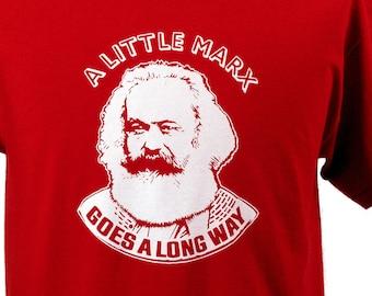 T-SHIRT - A Little Marx - Red - Sizes S - XXL