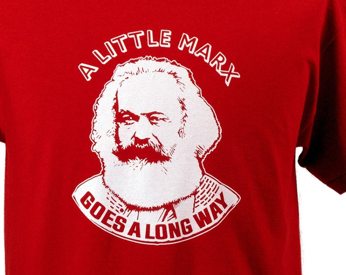 T-SHIRT - A Little Marx - Red - Sizes S - XXL