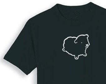 Lone Black Sheep T SHIRT Lone Black Sheep Sizes Medium and Large