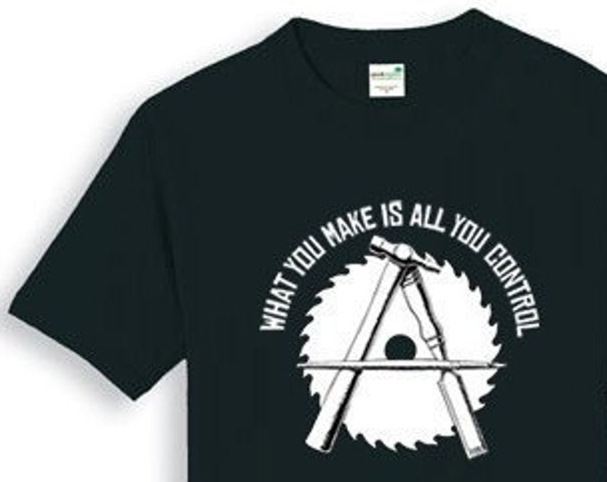 Anarcho-Crafter T SHIRT Sizes Small, Medium, Large, XL and XXL