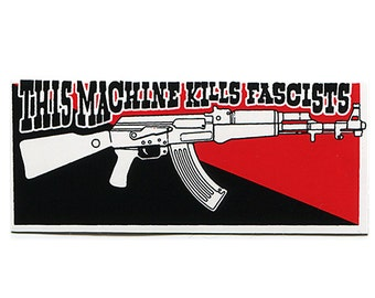 Kills Fascists - STICKER
