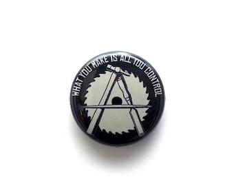Anarcho-Crafter 1 Inch (2.54 cm) Button