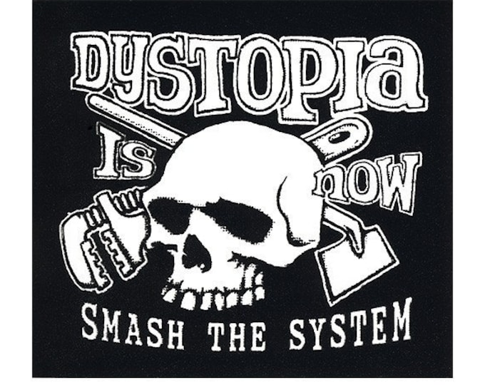 Dystopia Is Now STICKER - Free Shipping