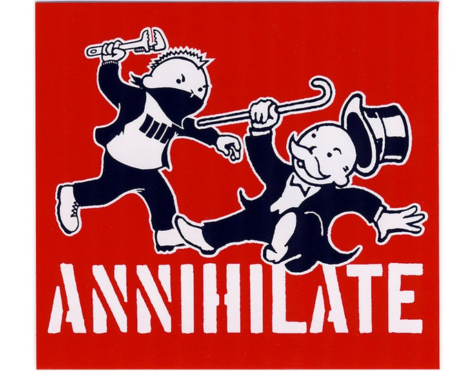 Annihilate STICKER - Free Shipping
