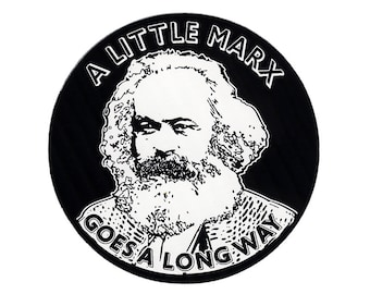 A Little Marx STICKER