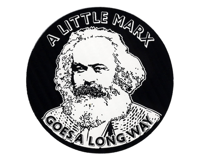 STICKER A Little Marx - Outdoor Sticker - Free Shipping