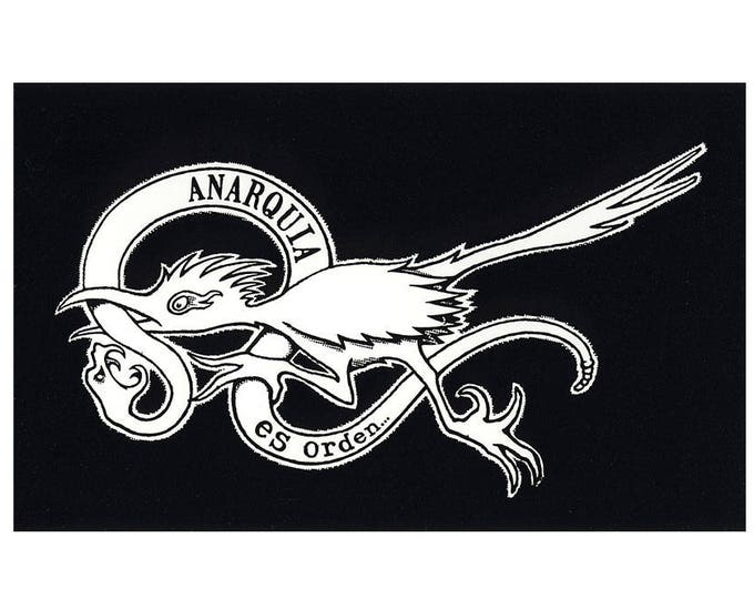 Anarquia es Orden - Anarchy Is Order STICKER
