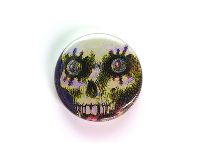 Fiendish Ghoul - One Inch Button