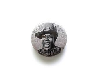 Flo Kennedy 1 inch Button or Magnet - Free Shipping