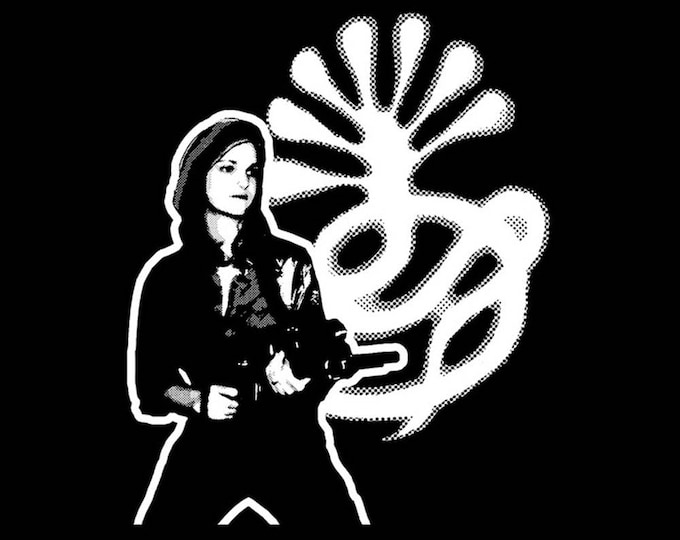 T-SHIRT Patty Hearst S.L.A. Black - Sizes S-2XL