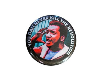 Fred Hampton 1 inch Button or Magnet