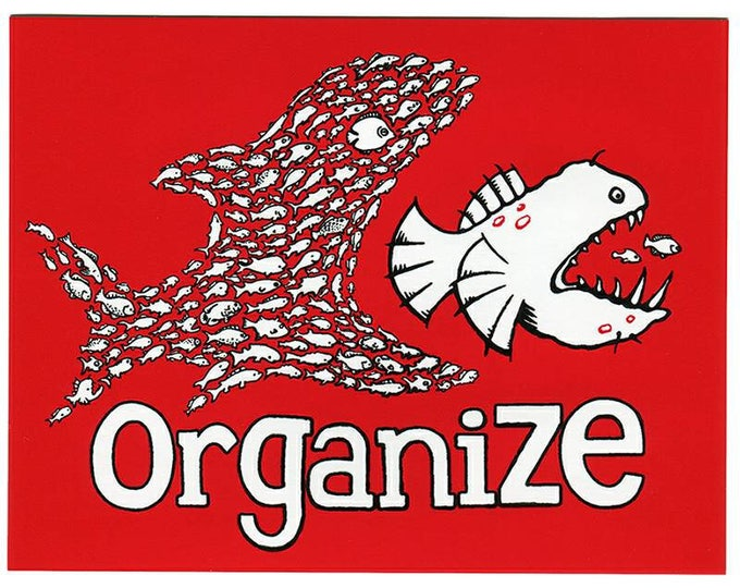Organize STICKER Large - Free Shipping