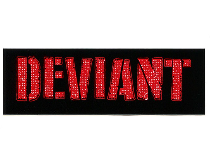 DEVIANT STICKER