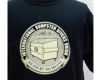 T-SHIRT Dumpster Divers Union - Sizes S-XL