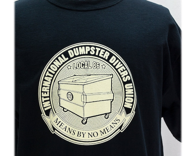 T-SHIRT Dumpster Divers Union - Sizes S-XL
