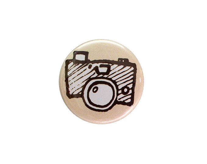Shutterbug 1 inch Button or Magnet - Free Shipping
