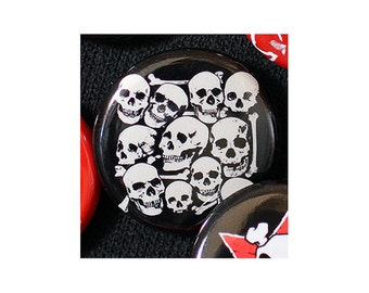 I Want Your Skull 1 Inch (2.54 cm) Button or Magnet - Ships Free