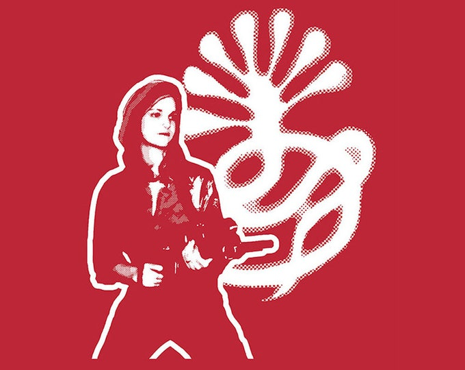 BaCK In SToCK! Patty Hearst S.L.A. Red T SHIRT Sizes Small, Medium Large, XL and XXL