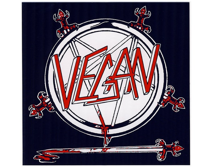 VEGAN Slayer STICKER