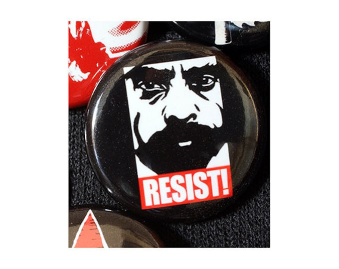Zapata RESIST 1 Inch (2.54 cm) Button or Magnet - Ships Free