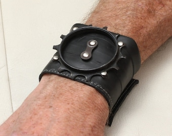 Recycled Bike Tube Cuff