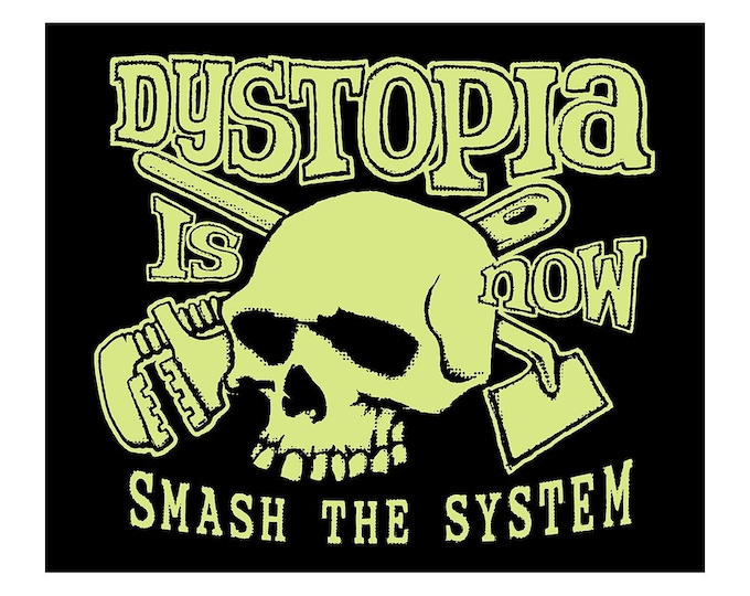 SALE! SALE Now 6 DoLLarS  Dystopia Now T SHIRT - Last One Size Medium