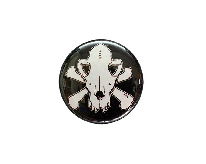 Jolly Roger's Dog 1 inch Button