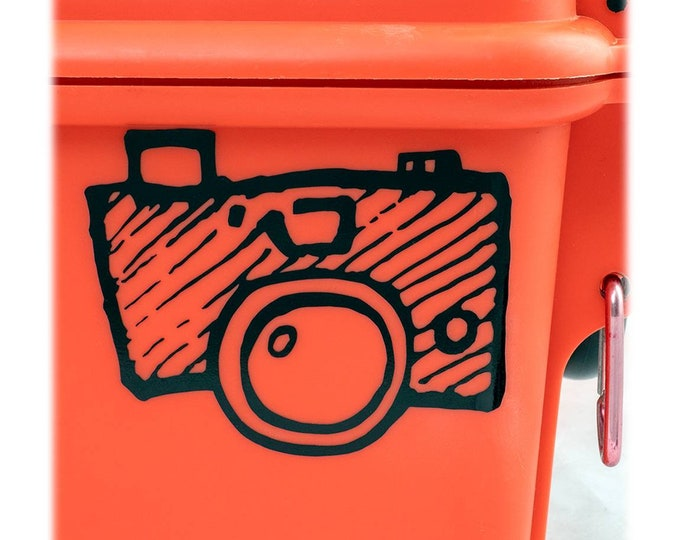 DECAL Shutterbug - Choose Color & Size