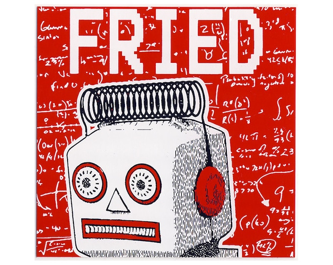 FRIED STICKER - Free Shipping