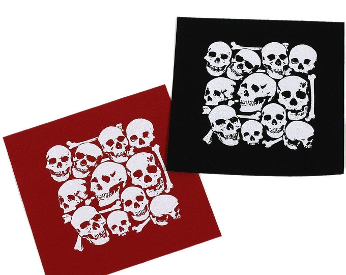 I Want Your Skull PATCH Iron-On 3.75 x 3.5 inches - Ships FREE USPS First Class Worldwide