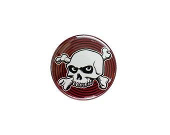 Hypno-Skull 1 inch Button