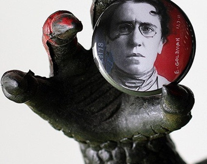 Emma Goldman 1 inch Button or Magnet - Ships Free
