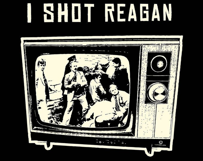 I Shot Reagan T SHIRT Sizes Small, Medium, Large and XL