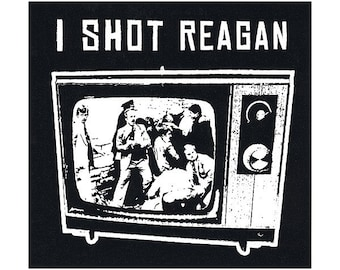 I Shot Reagan STICKER - Free Shipping