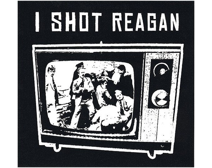 I Shot Reagan STICKER